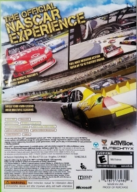 NASCAR The Game: Inside Line Box Art
