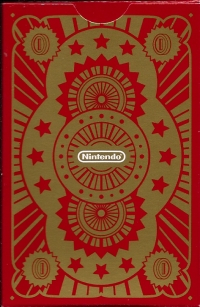 2012 Club Nintendo Platinum Member Reward - Mario Playing Cards Box Art