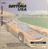 Daytona USA (Not for Resale) Box Art