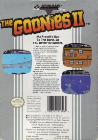 Goonies II, The Box Art