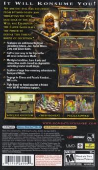 Mortal Kombat: Unchained Box Art