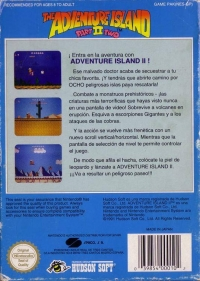 Adventure Island, The: Part II Two Box Art