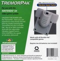 Performance TremorPak Box Art