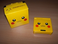 Nintendo Game Boy Advance SP - Pikachu Edition Box Art