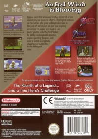 Legend of Zelda, The: The Wind Waker - Limited Edition Box Art