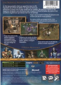 Baldur's Gate: Dark Alliance II Box Art