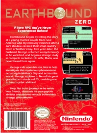 Earthbound Zero Box Art