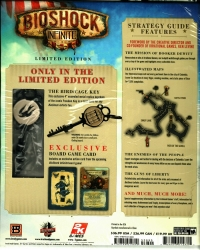 Bioshock Infinite - Limited Edition Strategy Guide Box Art