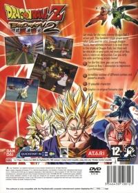 Dragon Ball Z: Budokai 2 Box Art
