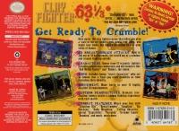 ClayFighter 63⅓ Box Art