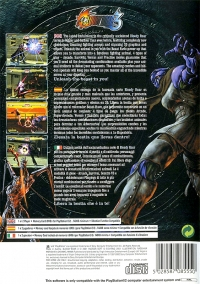 Bloody Roar 3 Box Art
