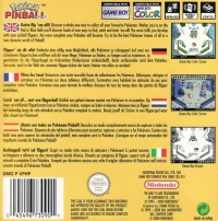 Pokémon Pinball Box Art