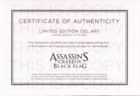 Assassin's Creed IV Black Flag Limited Edition Cel Art Box Art
