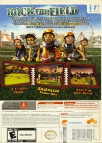 Backyard Sports: Rookie Rush Box Art