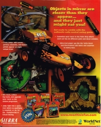 3-D Ultra Radio Control Racers (Large Box) Box Art