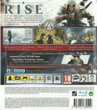 Assassin's Creed III [UK] Box Art