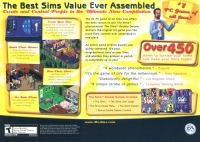 Sims, The: Double Deluxe Box Art