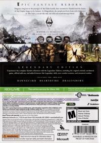 Elder Scrolls V, The: Skyrim - Legendary Edition Box Art