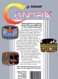 Contra (round seal) Box Art