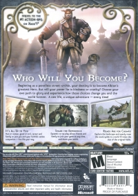 Fable II Box Art