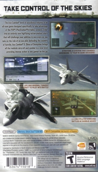 Ace Combat X: Skies of Deception Box Art