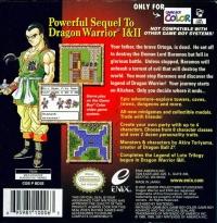 Dragon Warrior III Box Art