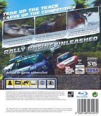 Sega Rally [UK] Box Art