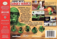 Army Men: Sarge's Heroes (gray cartridge) Box Art