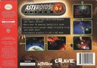 Asteroids Hyper 64 Box Art
