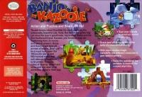 Banjo-Kazooie Box Art