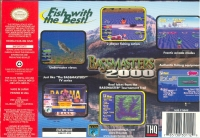 Bassmasters 2000 (blue cartridge) Box Art
