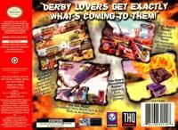 Destruction Derby 64 Box Art