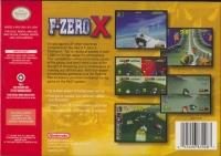 F-Zero X Box Art