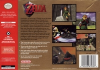 Legend of Zelda, The: Ocarina of Time - Collector's Edition Box Art