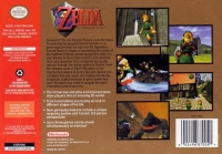 Legend of Zelda, The: Ocarina of Time Box Art