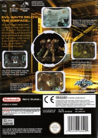 Metroid Prime [UK] Box Art