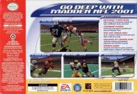 Madden NFL 2001 Box Art