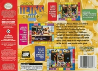 Magical Tetris Challenge Box Art