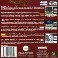 Shadowgate Classic Box Art