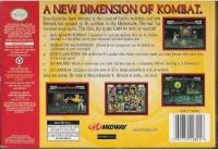 Mortal Kombat 4 Box Art
