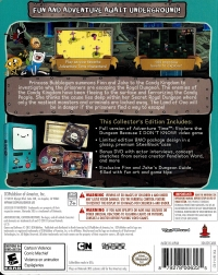 Adventure Time: Explore the Dungeon Because I DON'T KNOW! - Collector's Edition Box Art