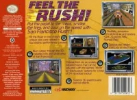 San Francisco Rush: Extreme Racing Box Art