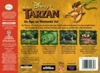 Disney's Tarzan Box Art