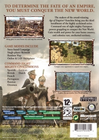 Age of Empires III Box Art