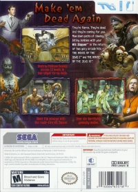 House of the Dead 2 & 3 Return, The Box Art