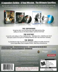 Metal Gear Solid 4: Guns of the Patriots - Limited Edition Box Art