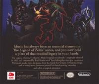 Legend of Zelda, The: Majora's Mask - Official Soundtrack Box Art