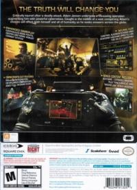Deus Ex: Human Revolution - Director's Cut Box Art