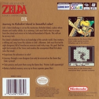 Legend of Zelda, The: Link's Awakening DX (black ESRB) Box Art