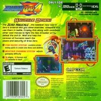 Mega Man Zero 4 Box Art